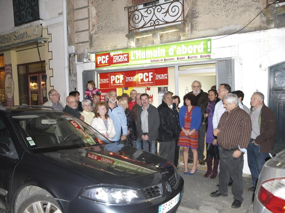 LE LOCAL DU PCF (section Bayonne - Anglet - Biarritz - Ustaritz)